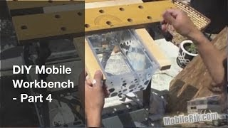 "Diy Portable ""mobile Workbench"" For Your Camper (or Tiny House/apartment) - Part 4"