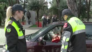 ermelinda policja q feston 8 marsin n patrullim top channel albania news lajme