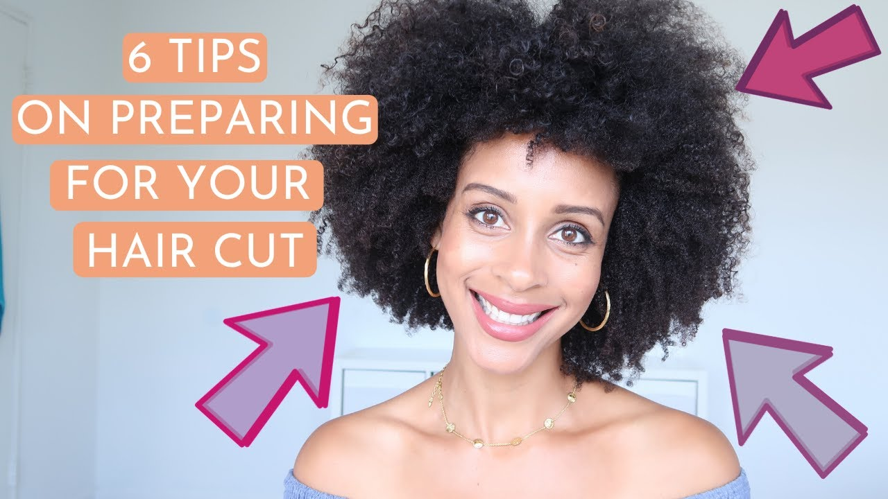 How to prepare for your first hair cut on natural hair