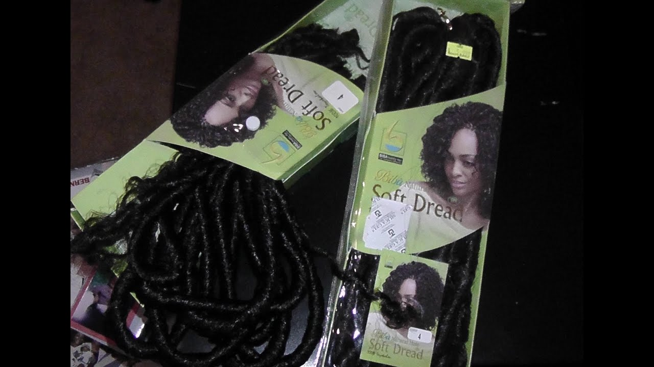 Crochet Braids/Biba Soft Dread Hair - YouTube