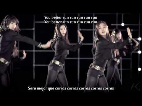 [HD MV] Girl Generation(SNSD) - Run Devil Run Story version(Karaoke - Sub Español)