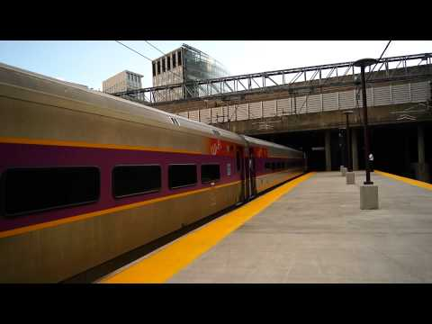 [Massachusetts Bay Transportation Authority] Boston Bound Train Departing Providence Station
