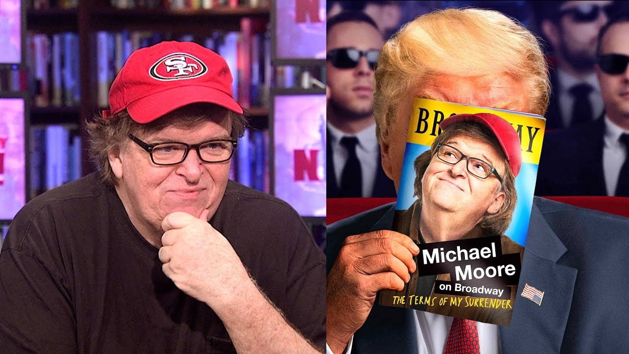 Full Interview: Michael Moore on His Broadway Show, Trump, Puerto Rico, NFL & Media Support for