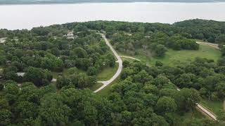 Whitebreast Campground, Knoxville I๐wa | Drone video