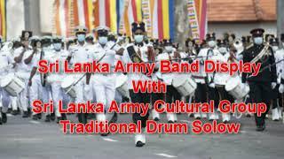 Band Display With Drum Orchestra – Sri Lanka Army Band – Anjula De Soysa