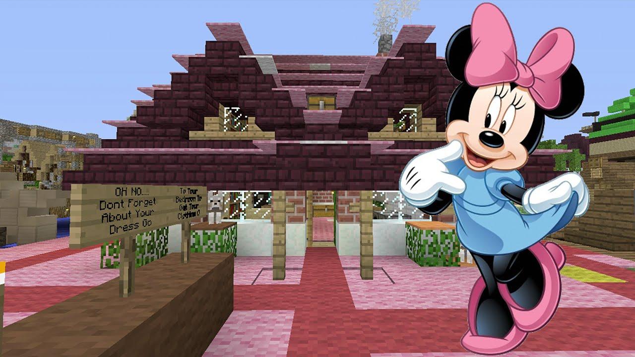 minecraft minnie mouse