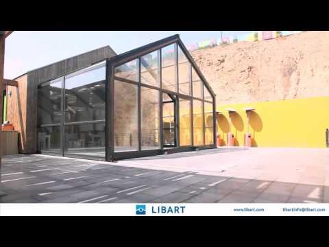 .為了讓「室內舒適 室外自由」,設計公司蓋了可以自己伸縮的建築