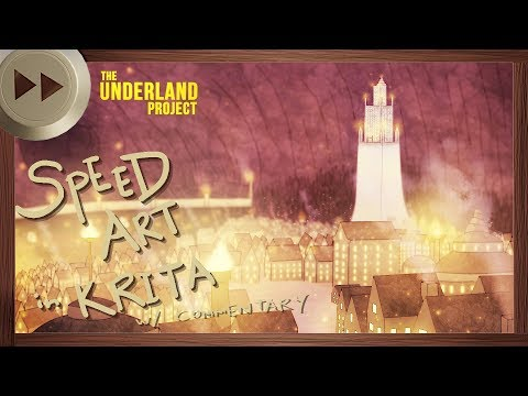 Regalia Early Concept Art – KRITA SPEED ART and VLOG | The Underland Project – EPISODE 3