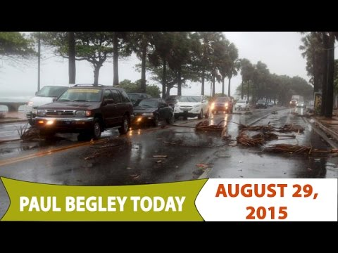 Paul Begley Today -  'Erika' Lashes 20 Dead In Dominica