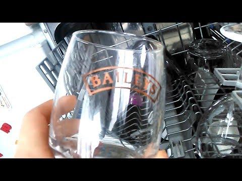 Как мыть бокалы в посудомоечной машины