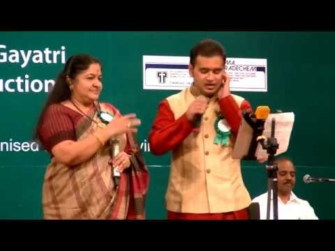 CHITRA GARU AND ABHIRAM - Anjali Anjali song from DUET