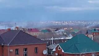 23.04.2017 г.  Костанай, горит трава на берегу Тобола