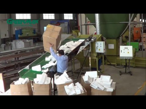 Expanded Polystyrene/Styrofoam/EPS Disposal Machine- Greenmax