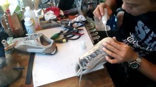 黏世界奈米膠--鞋底脫落示範教學影片