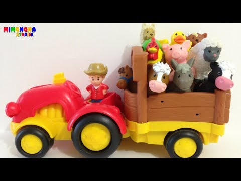 Farm Animals 🐷🐮  eating fruits and vegetables | Silly Sounds | Mimonona Stories