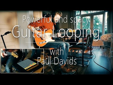 Guitar Looping Live Performance | Beautiful And Powerful |