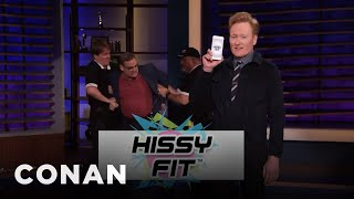 Life Is Your Gym With The Hissy Fit Fitness App - CONAN on TBS
