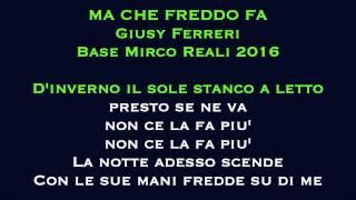 Ma che freddo fa Giusy Ferreri Strumentale con testo