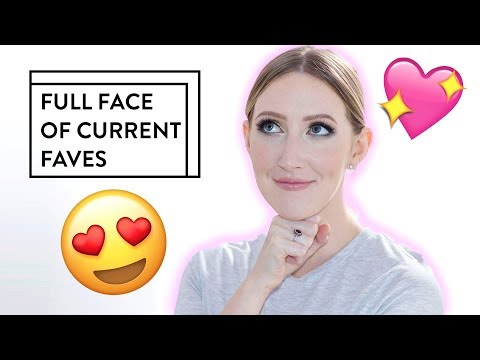 YAY! Chatty Full Face of Current Favourites!  Sharon Farrell