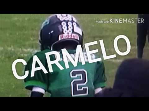 Carmelo Anthony Carter football highlights 6u