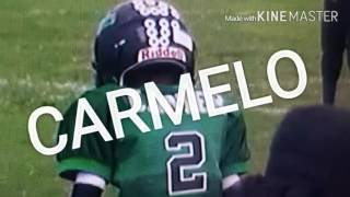 Carmelo Anthony Carter football highlights 6u