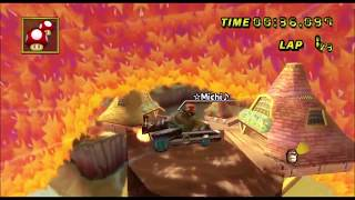 [Mario Kart Wii  TAS] Maple Treeway automatic Kart first lap 46:782