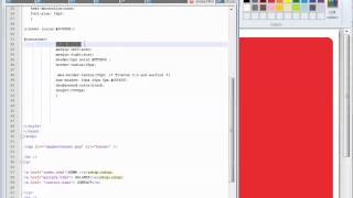 Chm html center layout using div