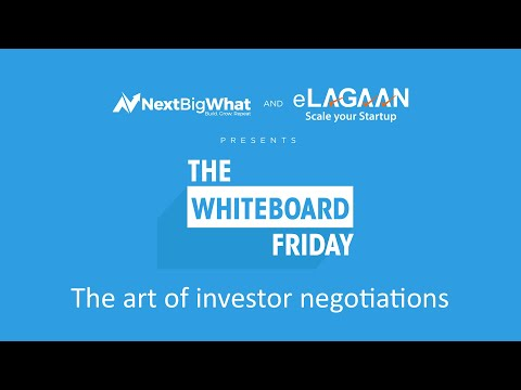 The art of investor negotiations [Whiteboard Friday]