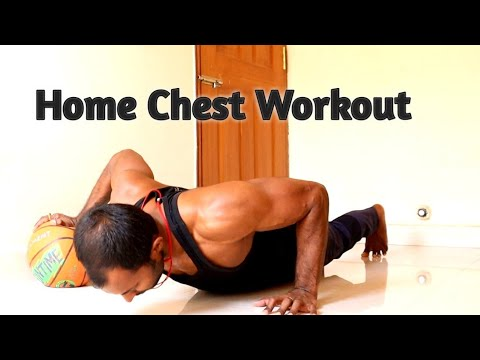 home chest workout no equipment  lean muscle  youtube
