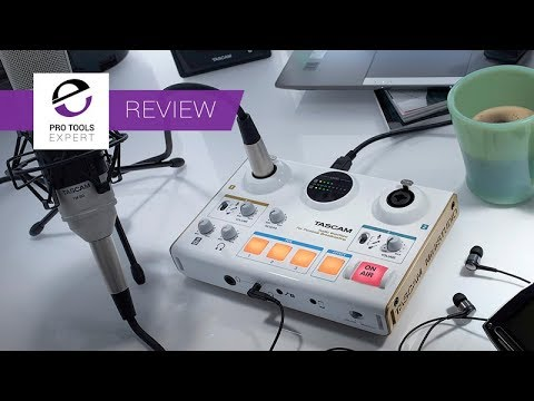 Review - Tascam MiNiStudio Creator Personal Broadcast Interf
