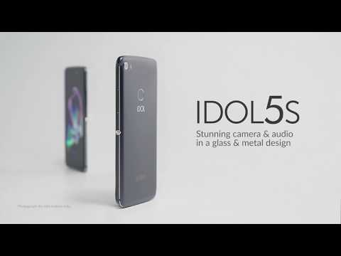 IDOL 5S - Stunning camera & audio in a glass and metal design