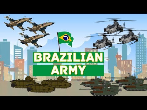 Brazilian Armed Forces 2017-2018 | Brazil Military Power | HK Defense TV