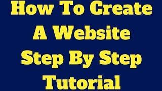 Adım Adım Öğretici Bir Web Sitesi Oluşturmak İçin Nasıl
