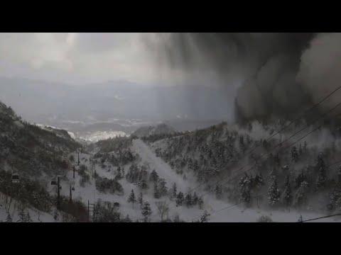 Japan: Vulkanausbruch im