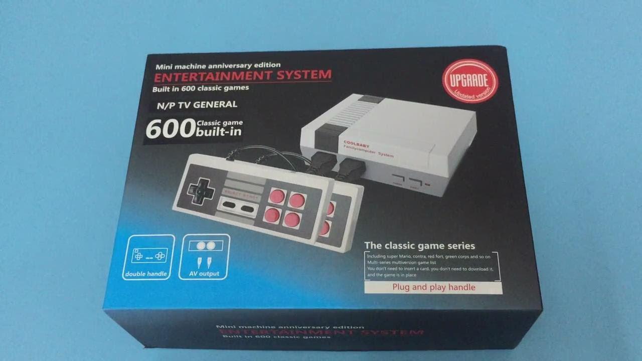 Mini Retro Video Game Console Built In 600 Classic Nes Games Youtube