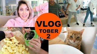 OOTD,  Fortnite Suchtis & Sport  -  Vlogtober 2 | funnypilgrim