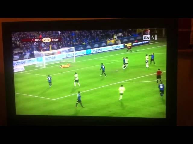 Club Bruges 2-2 Newcastle highlights