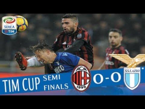 Milan - Lazio 0-0 - Highlights - TIM Cup 2017/18