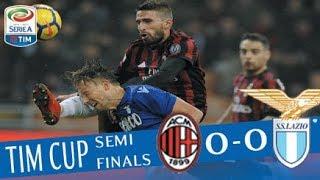 Milan - Lazio 0-0 - Highlights - TIM Cup 2017/18 streaming