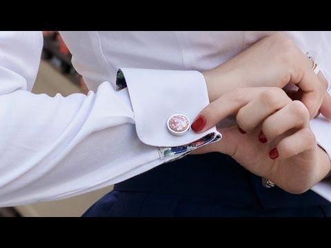 Как носят запонки
