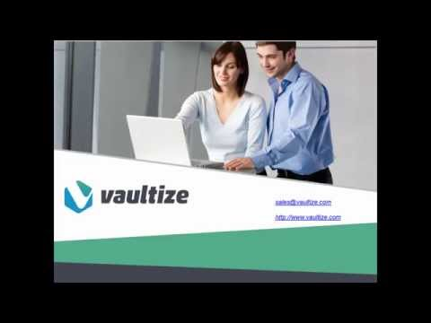 Vaultize: Demo of Enterprise Digital Rights Management (E-DRM / IRM)