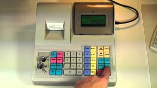 Инструкция кассира по работе на кассовом аппарате WAB-08RK