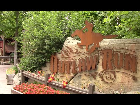 Outlaw Run Review Silver Dollar City 3x Inverting Wooden Coaster