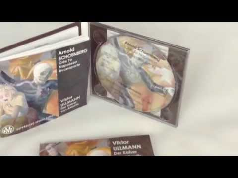 CD Digipak 4 pages + 52pages booklet, cellowrapped