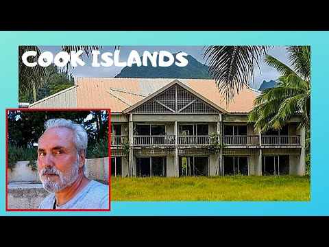 COOK ISLANDS, the destroyed and abandoned  SHERATON Resort &