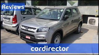 Maruti Suzuki Vitara Brezza 2018 Ldi/Ldi(o)| Brezza 2018 Base Model | Interior and Exterior - Review