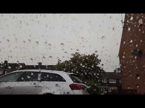 Luton and Dunstable UK Storm 07/06/16.