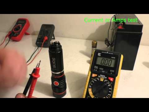 How to use a Multimeter Voltage Current and Continuity testing