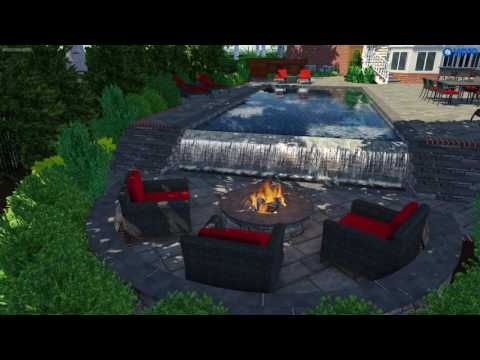 Custom Pool Environment- Vienna Va.