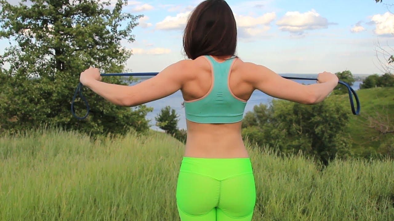 как убрать лишний жир со спины